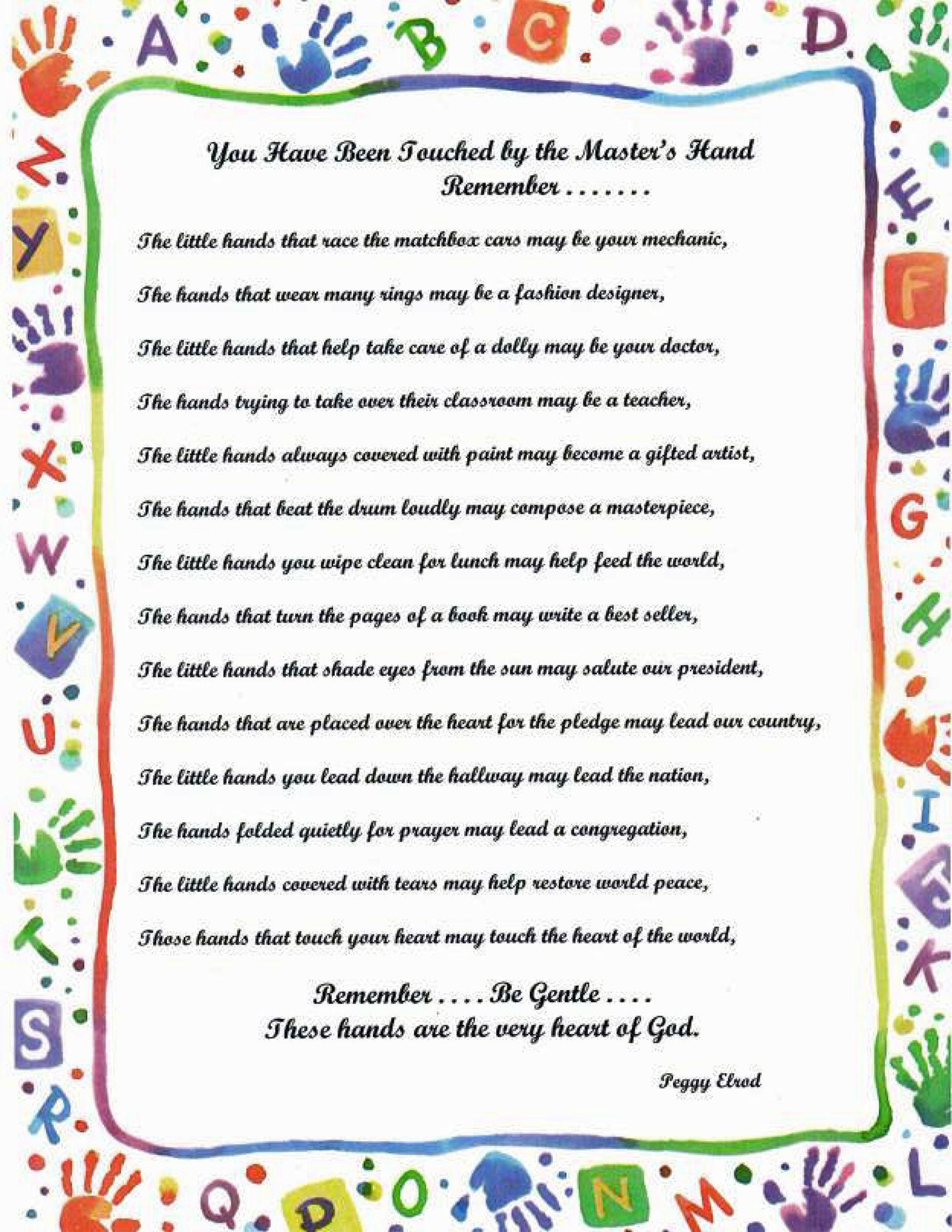Kindergarten Welcome Letter