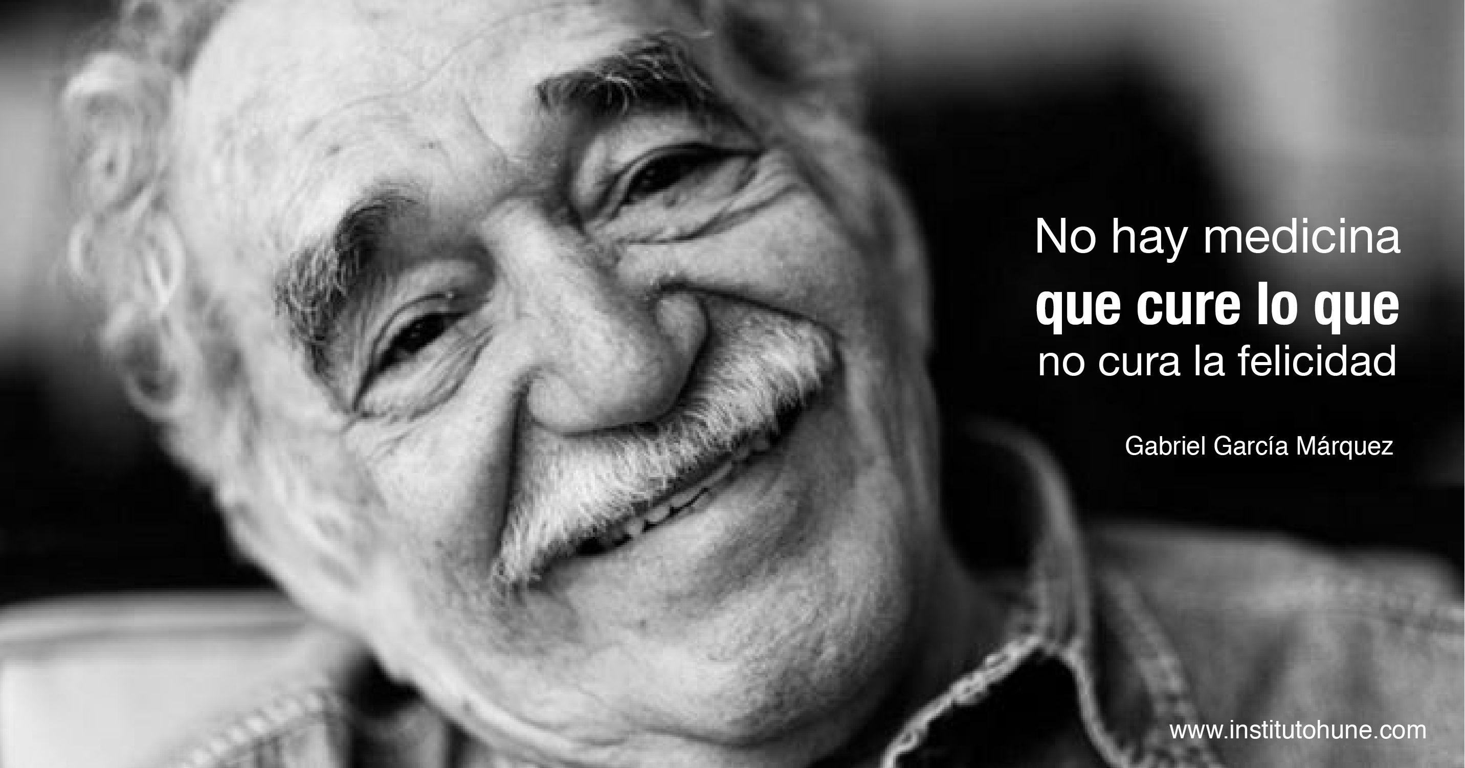 Palabra de Gabriel García Marquez #Felicidad