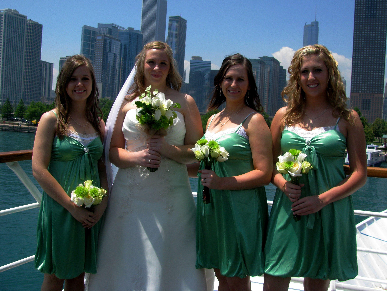 Wedding on the Spirit of Chicago :)