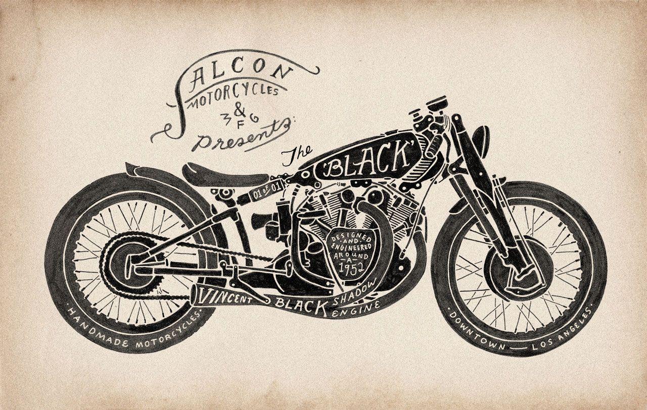 Картинки для декупажа мотоцикл