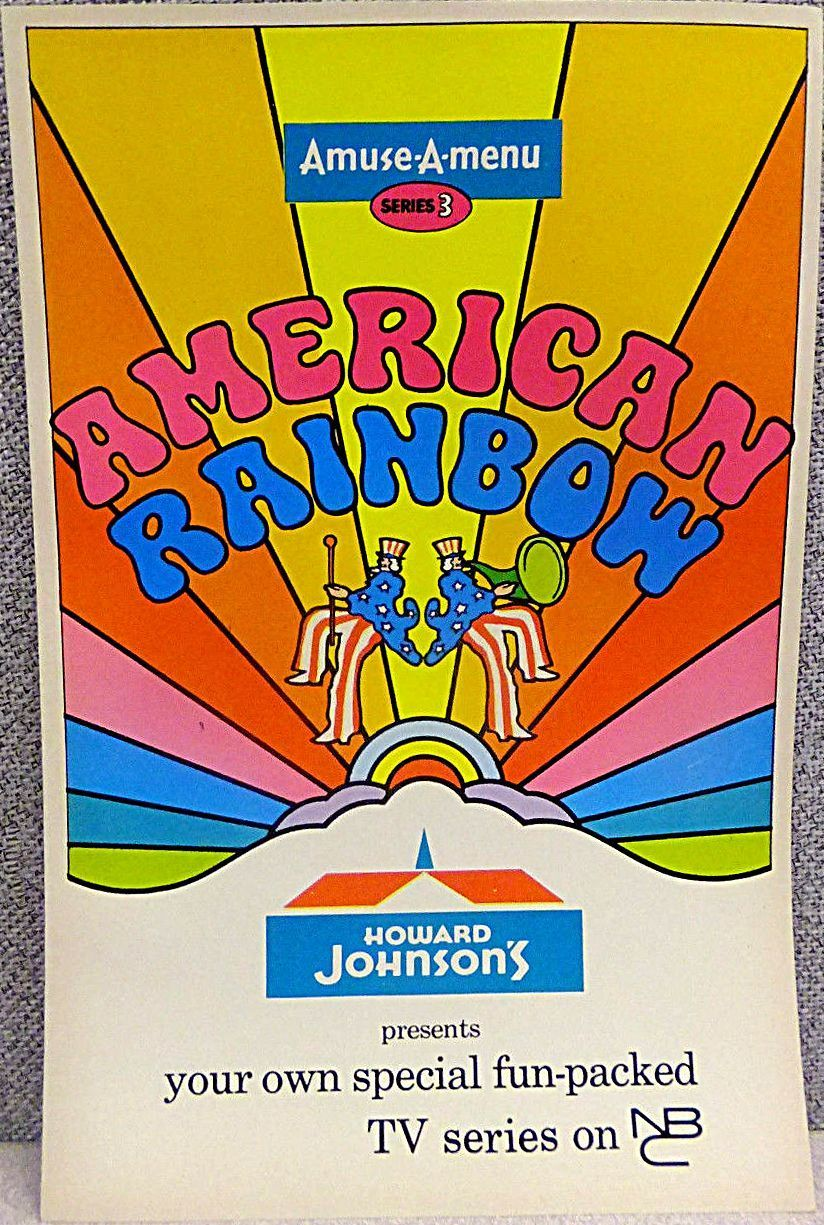 Details about 1970 howard johnson giveaway promo amuse a