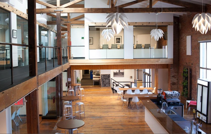 This beautiful coworking space is perfect for your next