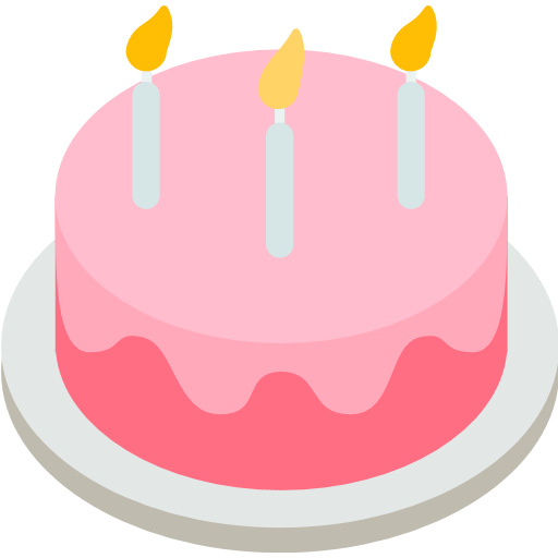 Birthday Cake Emoji for Facebook Email SMS ID 401 Emojico