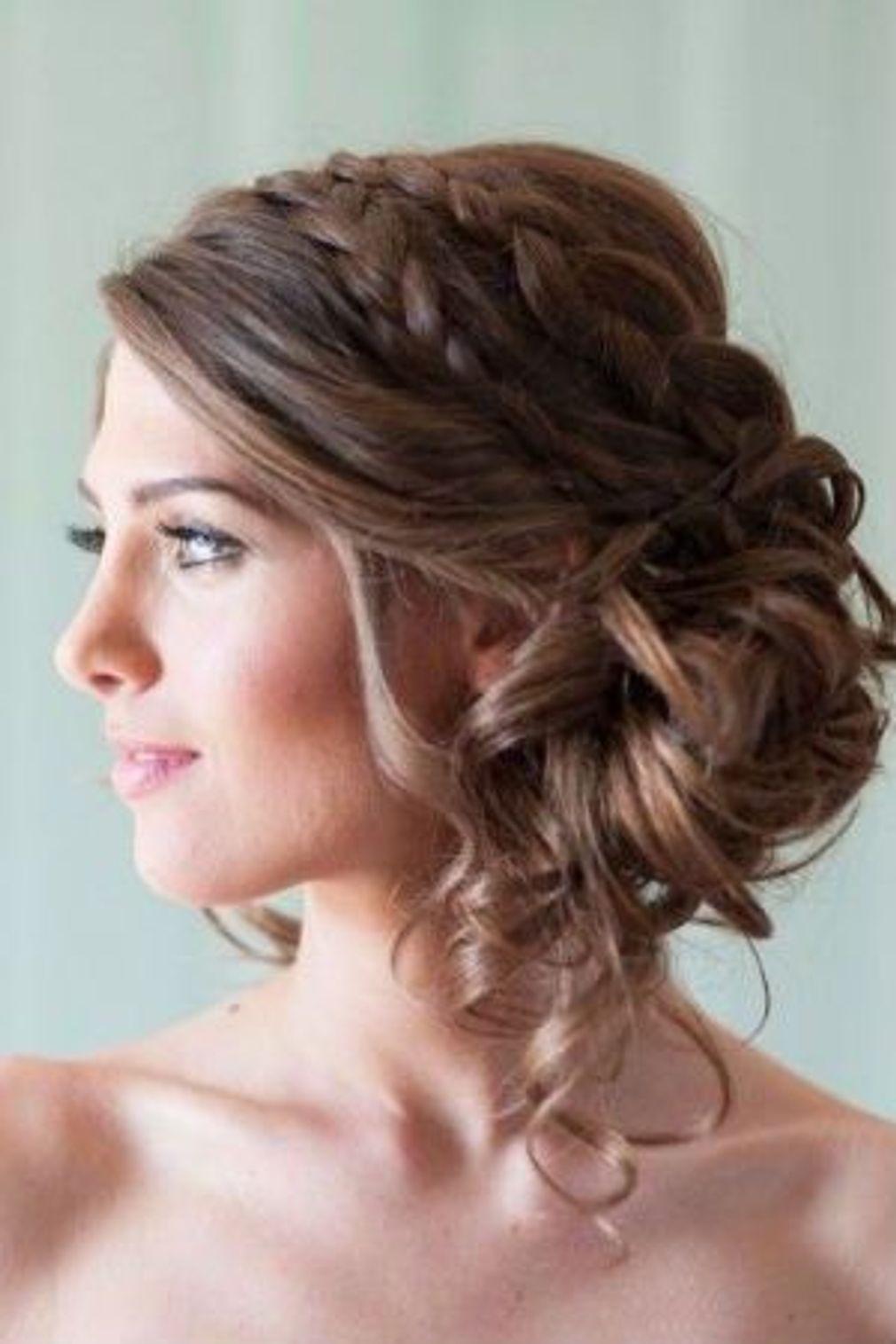 Modele de coiffure pour temoin de mariage