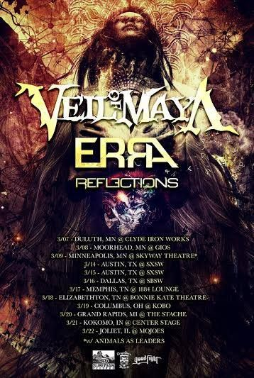 Veil Of Maya Announce Spring Tour Tours Music Bands Music