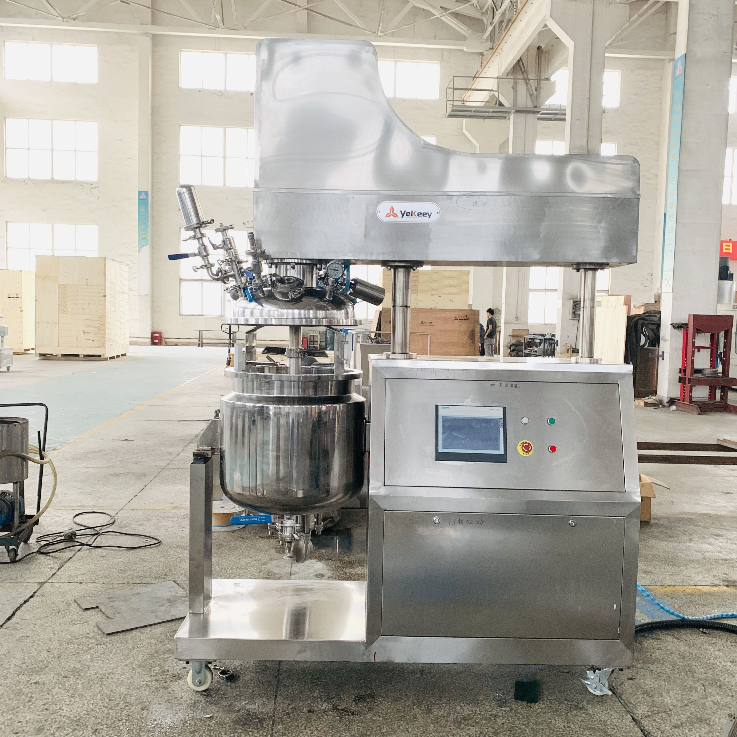 Cosmetic Production Equipment Cream Making Machines