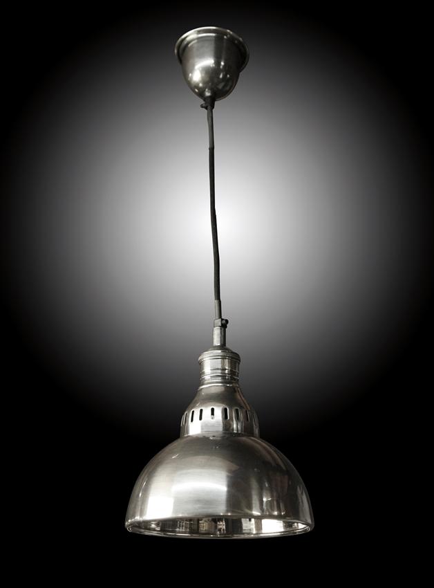 "Hanglamp ""Dakota"" Antiek Zilver - Dia = 20cm"