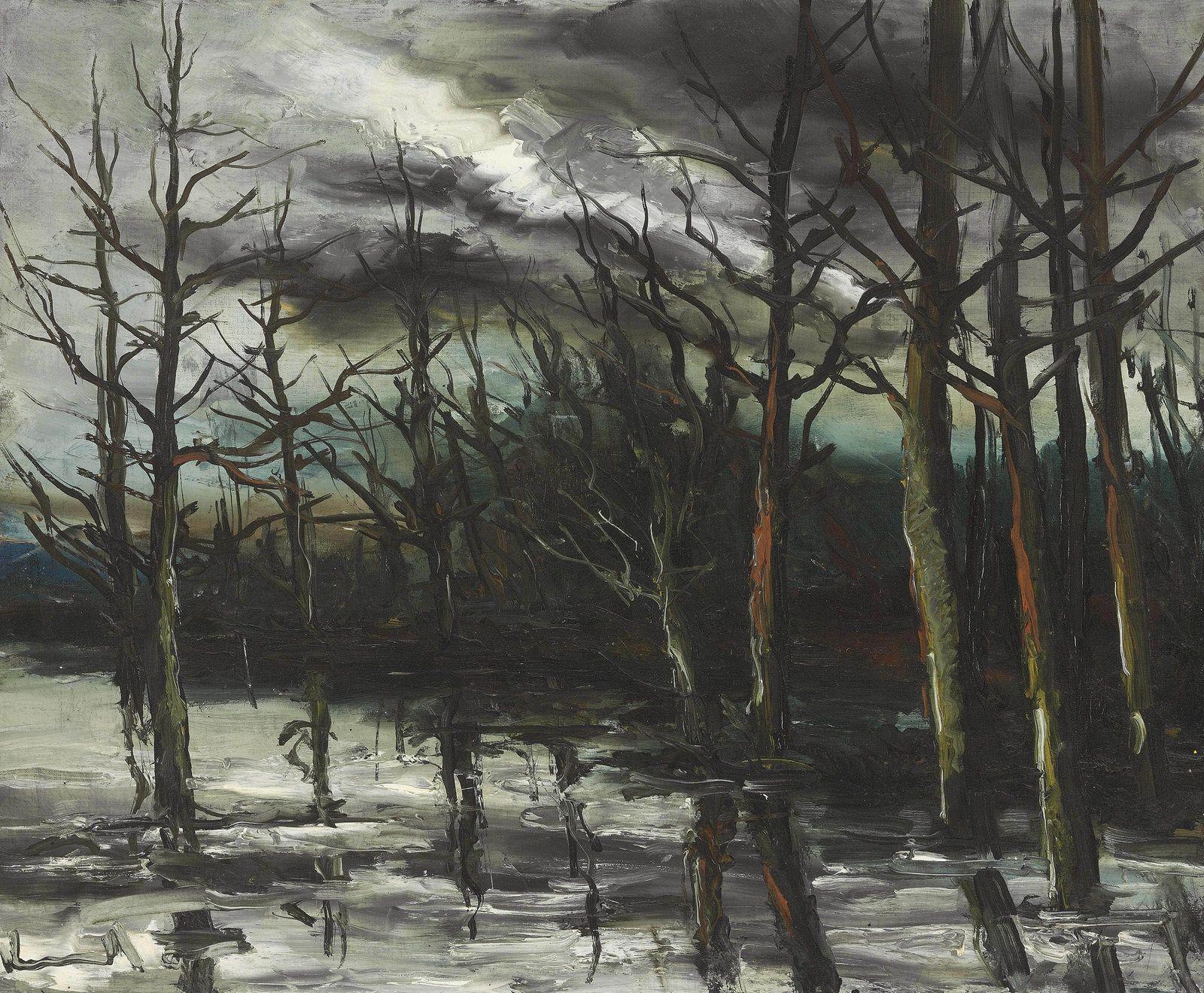 Flood in the Forest. Maurice de Vlaminck