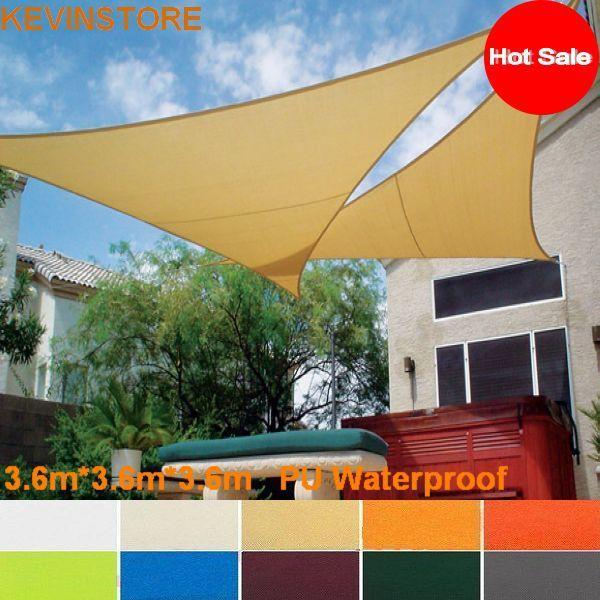 Online Get Cheap Sail Cloth Awning Aliexpress Com Bamboo Arbor Awning Outdoor Fabric