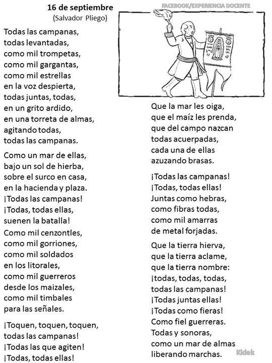 Poema 16 de septiembre | School | Pinterest | School