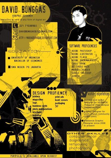 Resumes. CVs. Infographics.