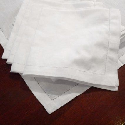 Hemstitch Dinner Napkins Set Of 12 White One Dozen 100 Egyptian Cotton Elegant Cloth Super Value Bulk 12 Pack Napkins Set Napkins Cloth Napkins Bulk