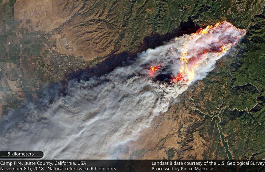 Astounding NASA imagery shows scope of California