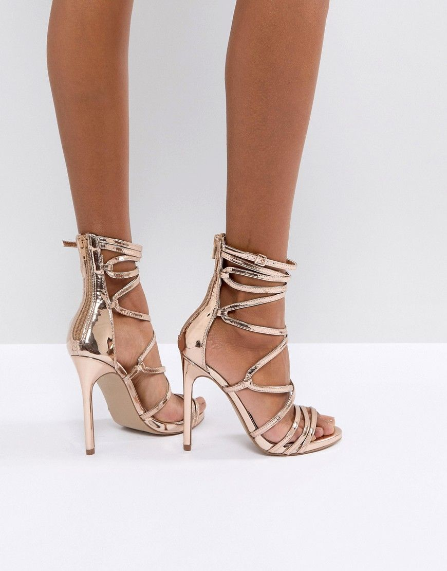 940674d5d79 Steve Madden Flaunt Heeled Sandals in 2019 | shoe love❤️ | Strappy ...