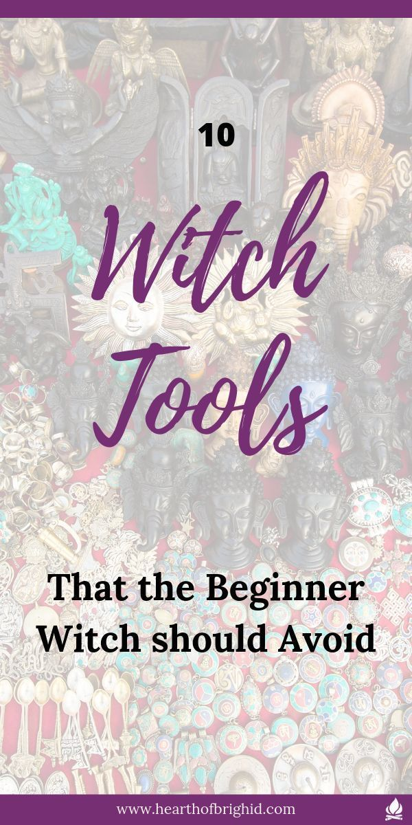 10 Tools the Beginner Witch does not need  The Hearth of Brighid Are you fed up of reading lists of essential tools for the which add up to 100s of pounds Are you totally...