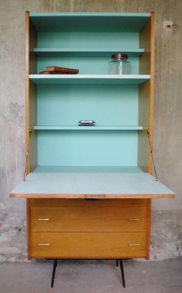 Meuble vintage Notre secretaire vintage pour travailler, étudier ou