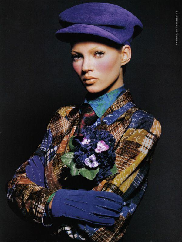 Bohemian Rahapsody Kate Moss Patrick Demarchelier 90s Supermodels