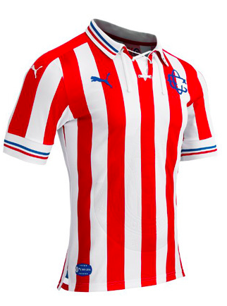on sale 42b9d f2829 Chivas Guadalajara F.C. 110 Retro Jersey 16/17 | Jerseys ...