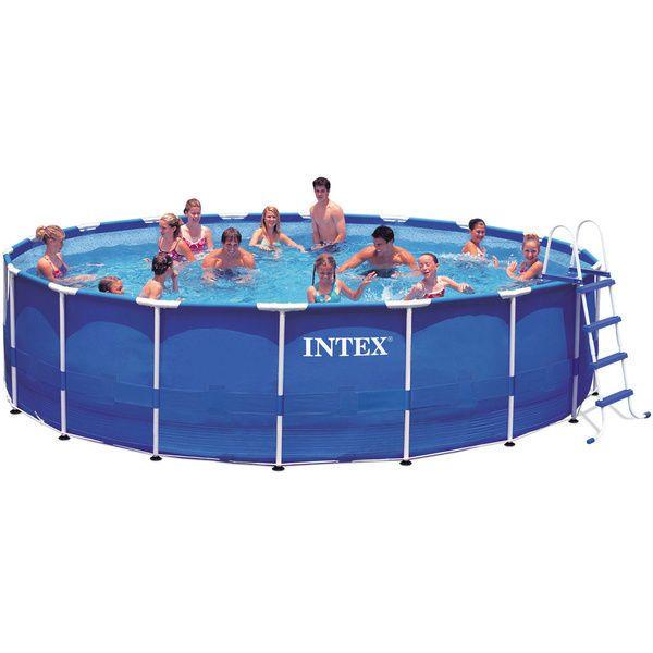 Metal Frame Pool Above Ground Swimming Pool Equipment Home Garden Outdoor Intex Intex Best Above Ground Pool Above Ground Swimming Pools