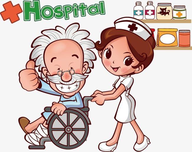 Medical Cartoon Creativo Clipart Del Paciente Vector Medico Vector De Dibujos Animados Png Y Psd Para Descargar Gratis Pngtree Enfermera Caricatura Enfermeras Animadas Imagenes De Enfermeras Animadas