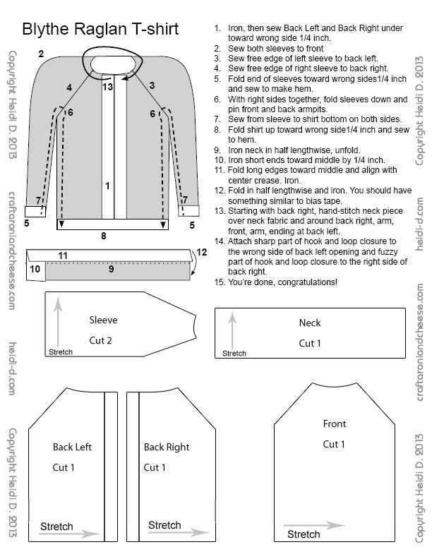 blythe doll sweater sewing pattern - Google Search   Sewing for me ...