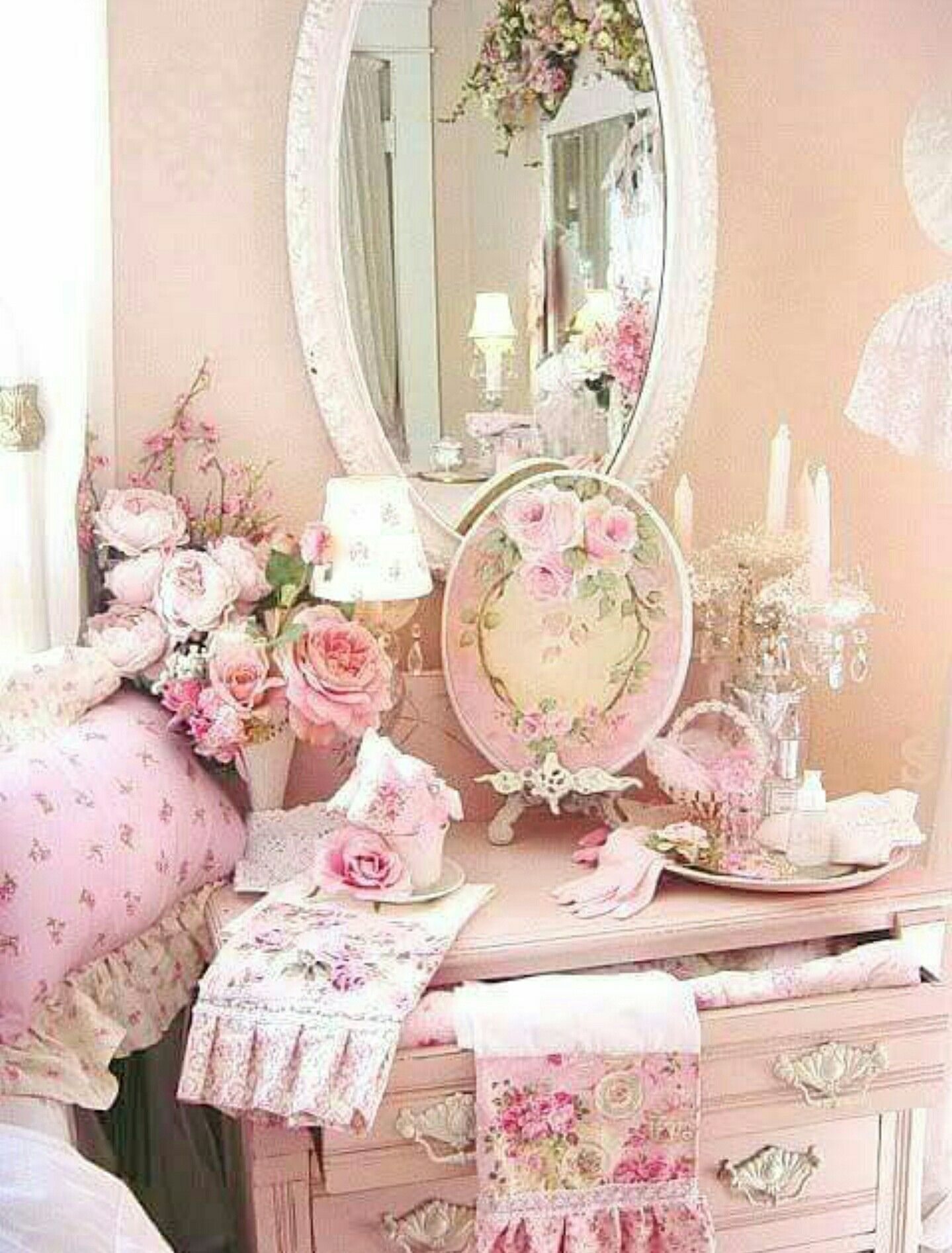 In The Pink Home Decor Kommode Shabby Chic Shabby Chic Dekoration