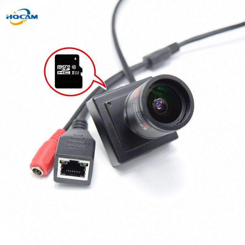 2 8-12mm manual zoom lens CAMHI 720P TF card camera Mini IP Camera