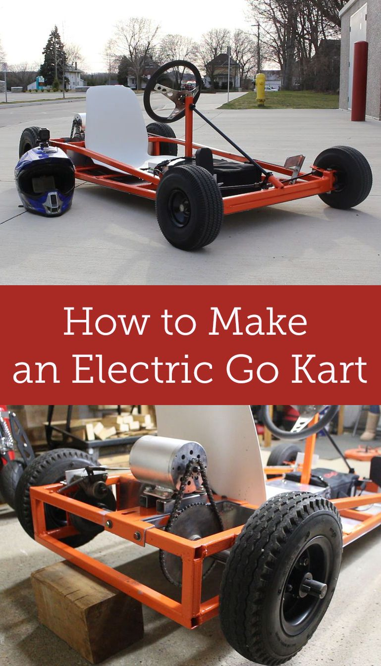 Transform An Old Gas Ed Go Kart Into Electric