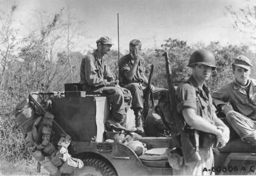Joint Assault Signal Company Jasco Jeep Mindanao Philippine Islands 28 April 1945 History Historical Figures Wwii