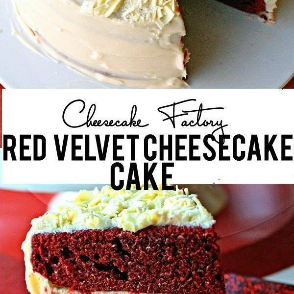 Dieses Cheesecake Factory Red Velvet Cheesecake Cake Nachahmer Rezept ist ...  Dieses Cheesecake Factory Red Velvet Käsekuchen-Kuchen-Nachahmer-Rezept ist einfach ERSTAUNLICH! W #cake #Cheesecake #Dieses #Factory #ist #Nachahmer #red #Rezept #Velvet #cheesecakefactoryrecipes Dieses Cheesecake Factory Red Velvet Cheesecake Cake Nachahmer Rezept ist ...  Dieses Cheesecake Factory Red Velvet Käsekuchen-Kuchen-Nachahmer-Rezept ist einfach ERSTAUNLICH! W #cake #Cheesecake #Dieses #Factory #ist #Nac #redvelvetcheesecake