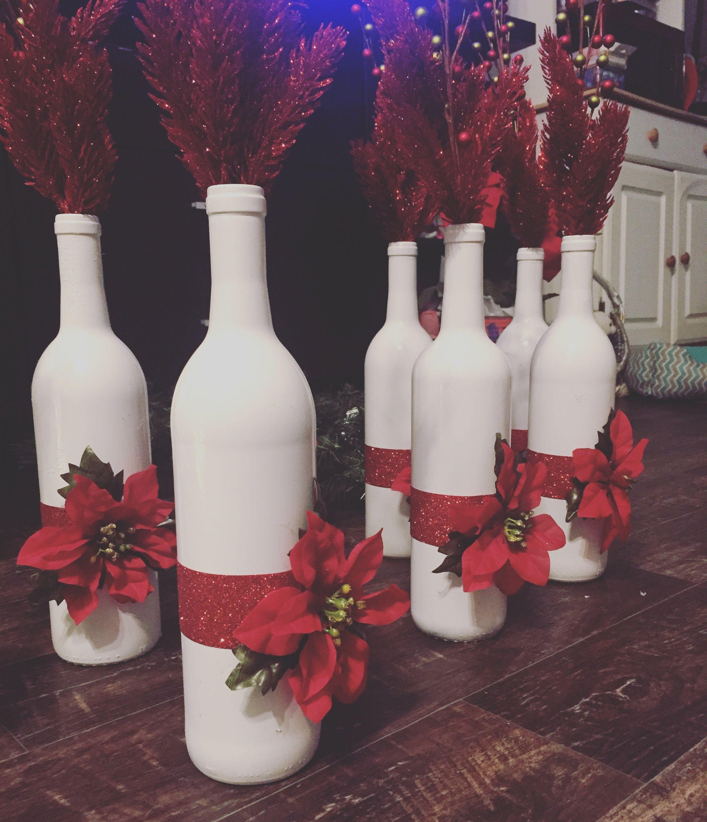 Diy Christmas Decorations Bottles