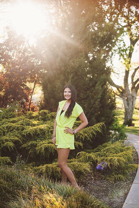 photo shoot ~ brennas spring senior portraits | Senior