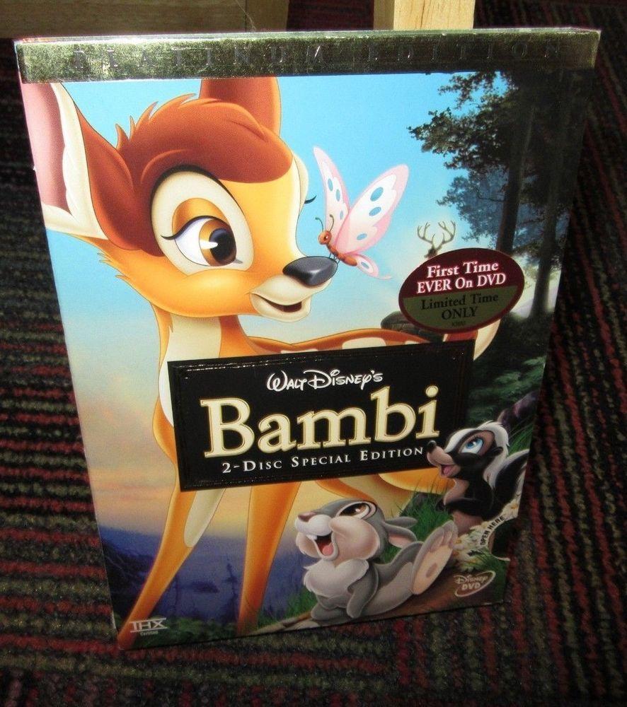 DISNEY: BAMBI - SPECIAL PLATINUM EDITION 2-DISC ANIMATED DVD