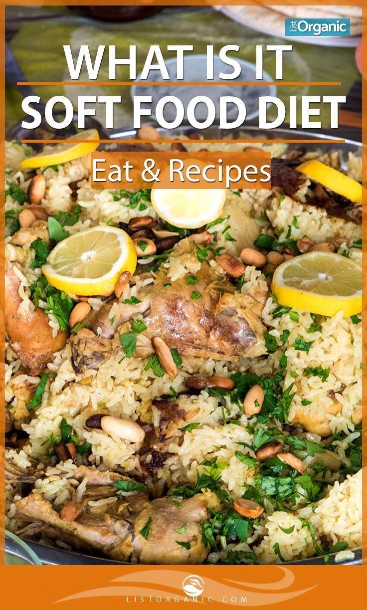 Recipe Soft foods diet, Pureed