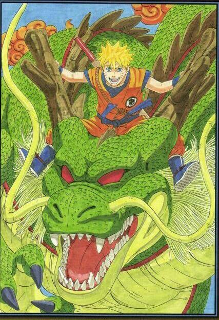 Ilustración de Naruto Goku : )