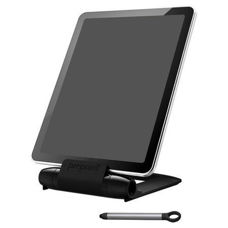 Prepara iPrep Tablet Stand & Stylus - Black - Walmart.com