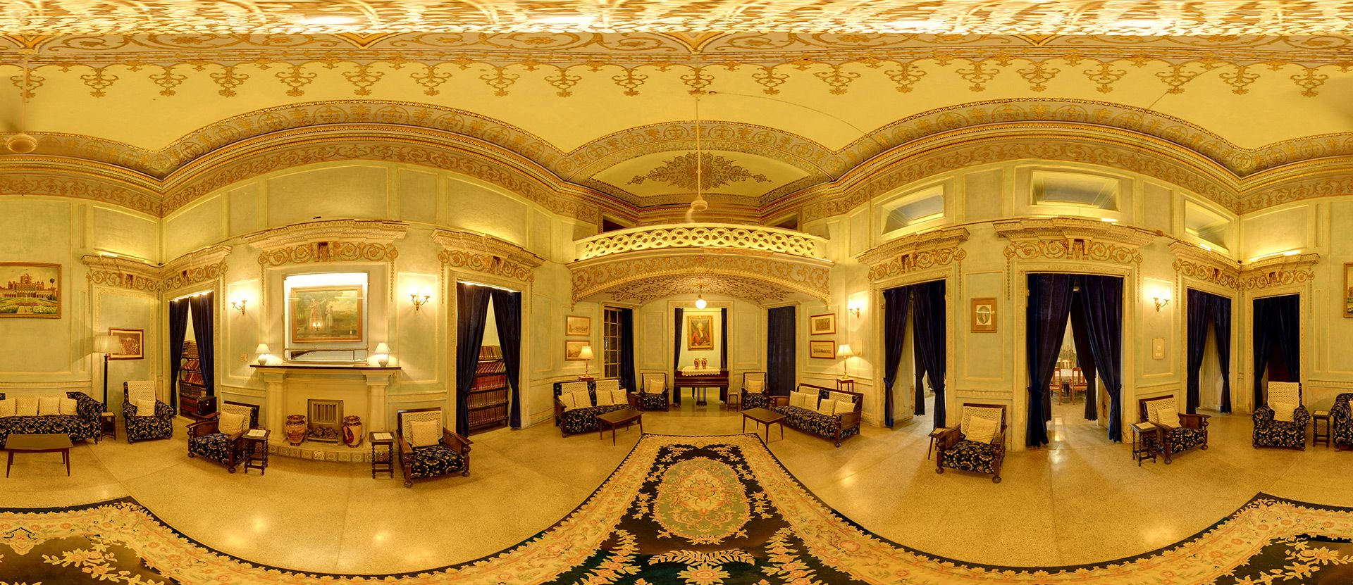 On Of The 360 Degree Panorama From La Martiniere College Lucknow