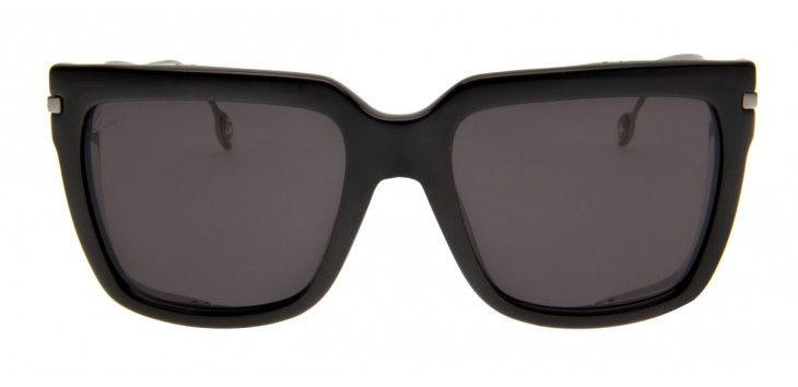O Gucci 54 traz a tendência do momento para os óculos de sol, com proteção  lateral contra a claridade em m c8b0834dfe