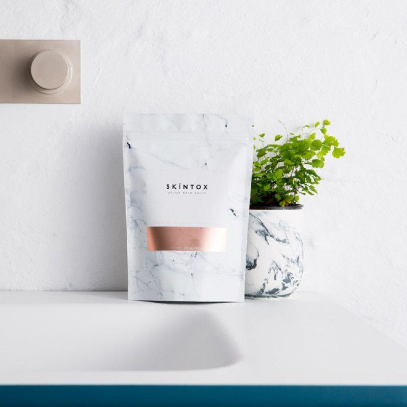 Skintox Detox Bath Salts Bath Salts Epsom Salt For Hair Skin Care