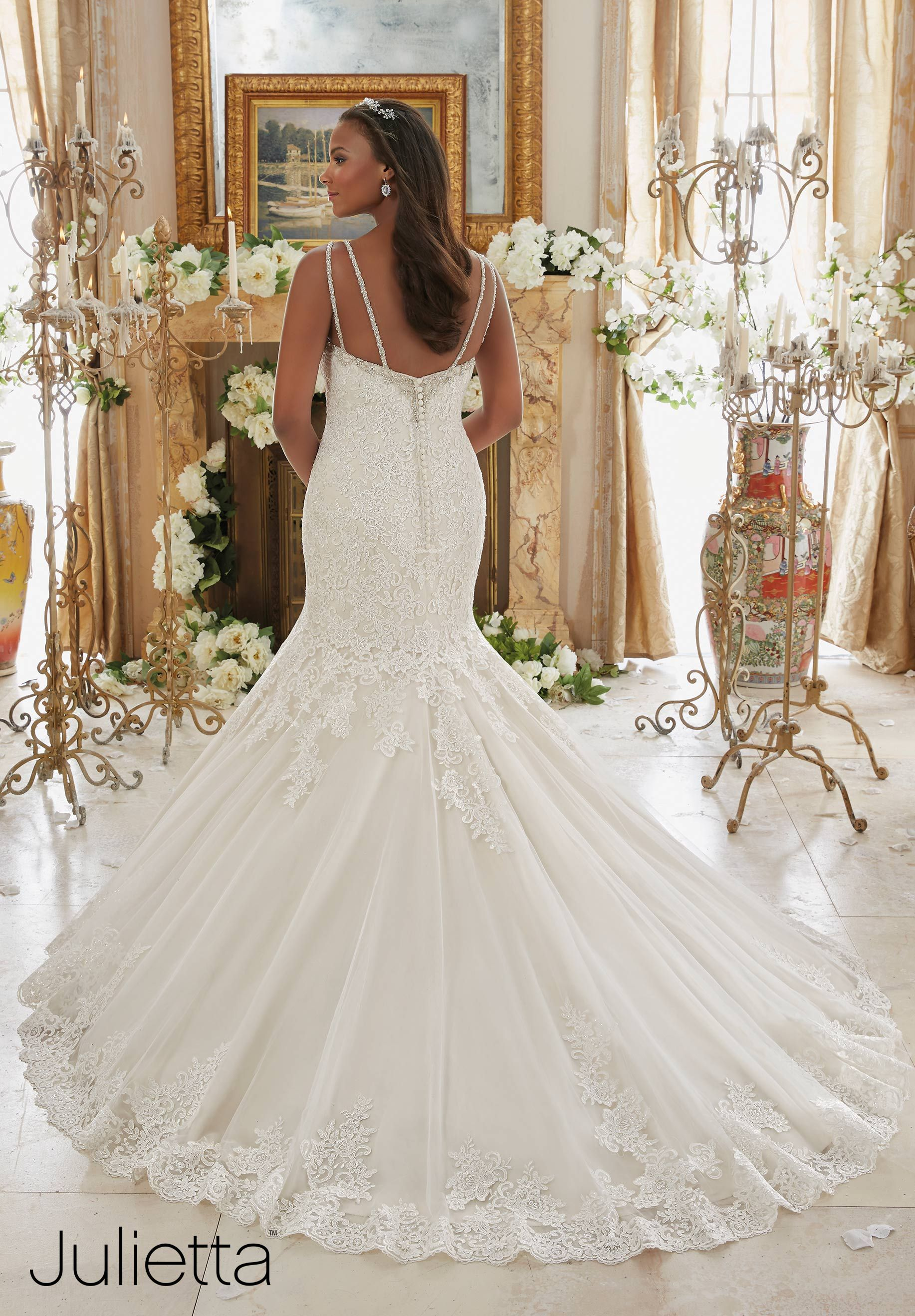 Mermaid plus size wedding dresses  Plus Size Wedding Gowns  Mori Lee  Julietta Collection  Pretty