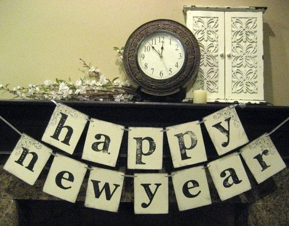 new year banner happy new year decoration by bekahjennings on etsy