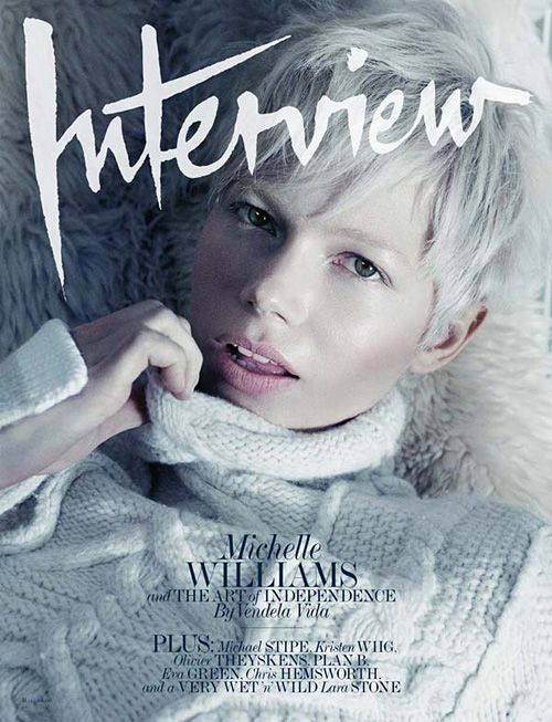 Michelle Williams by Mikael Jansson for Interview May 2011