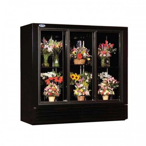 Powers Fs77gd 77 Walk In Freezer Sliding Glass Door Coolers For Sale