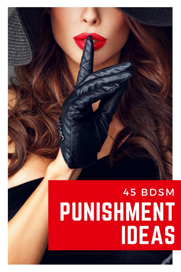 Bdsm Punishment Ideas - It Might Sound Like A Terrifying -5976