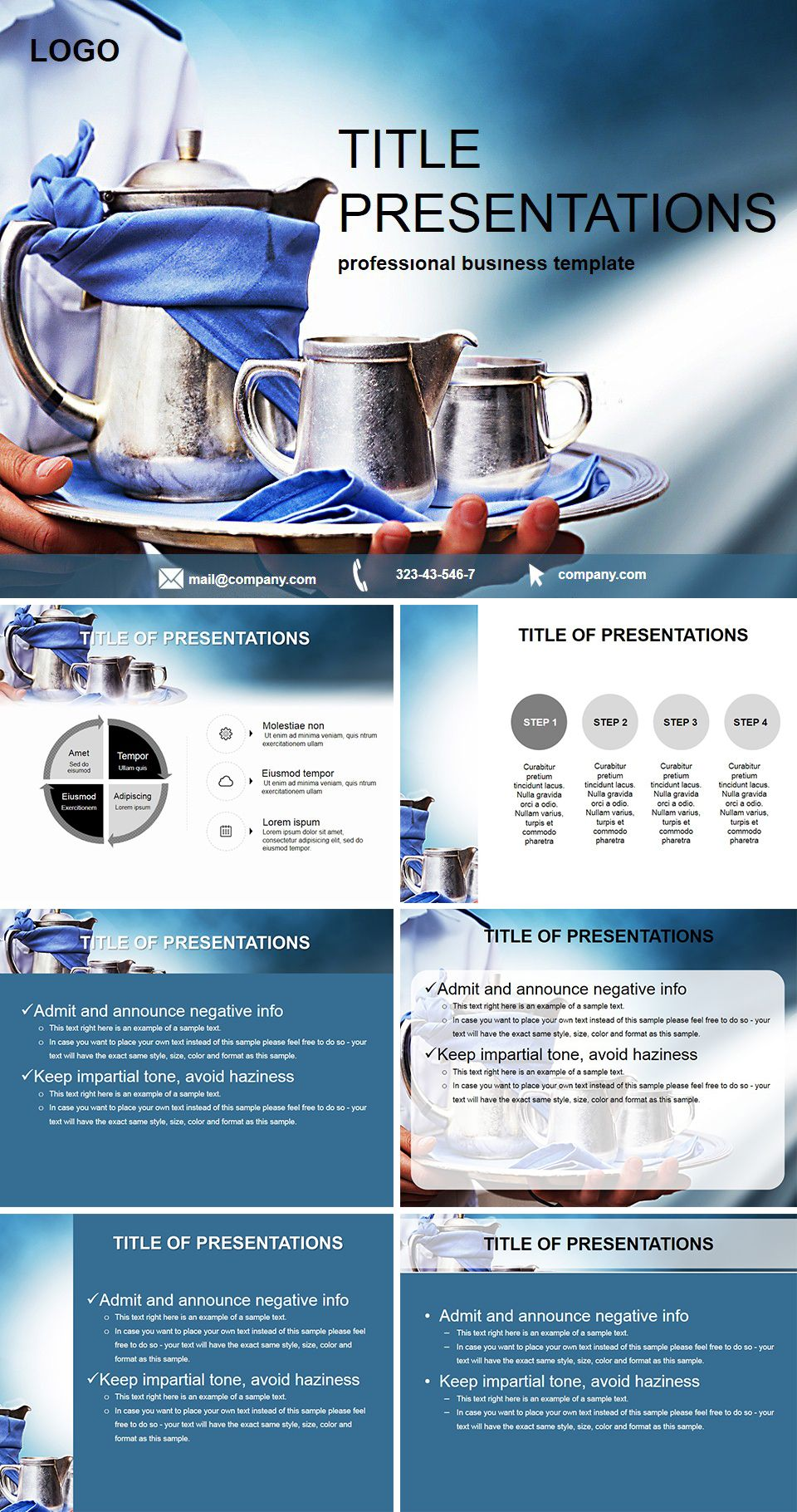 Free Hotel Service Powerpoint Templates Hotel Services Powerpoint Templates Keynote Template