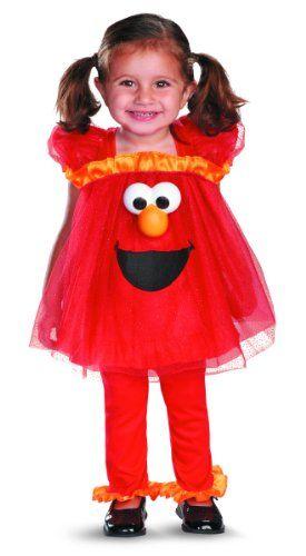 Disguise Costumes Sesame Street Light Up Elmo Infant