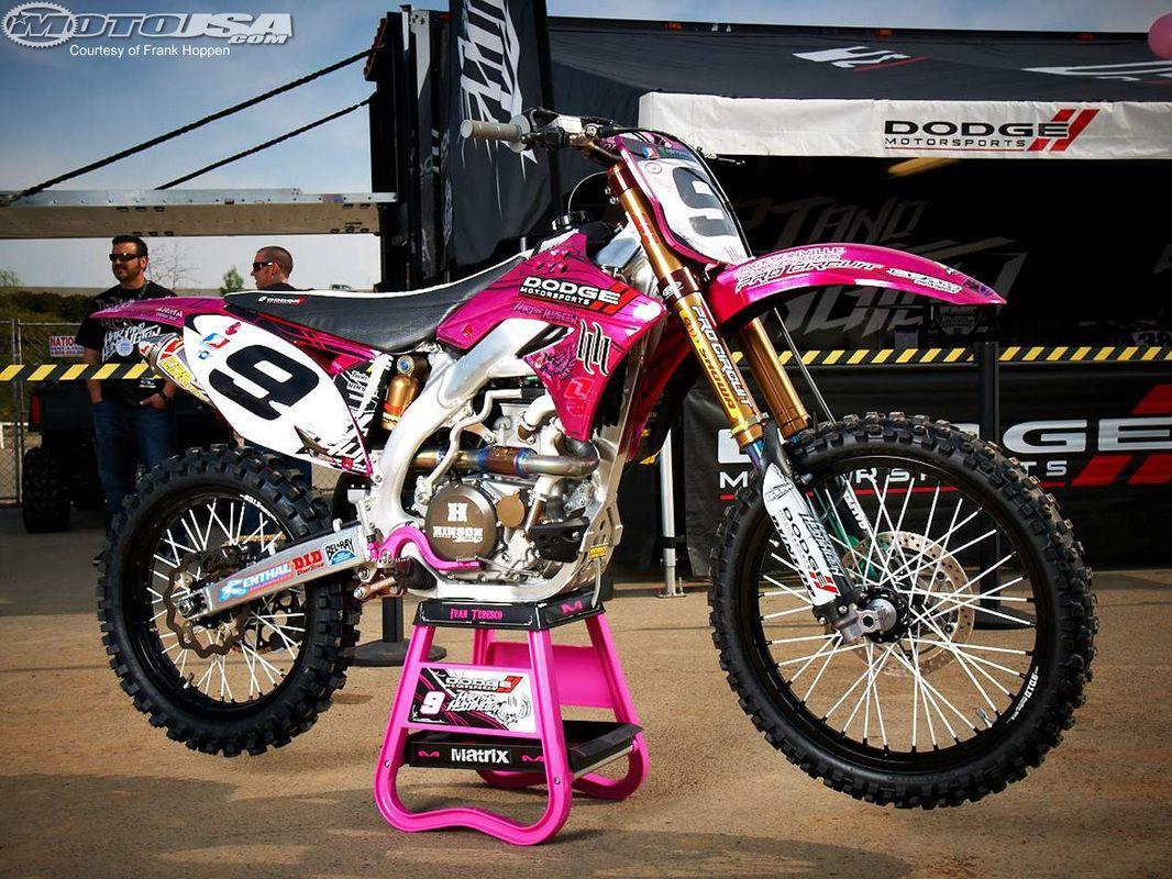 Pin By Brooke 01 On Motori Pink Dirt Bike Dirt Bikes For Sale Bike