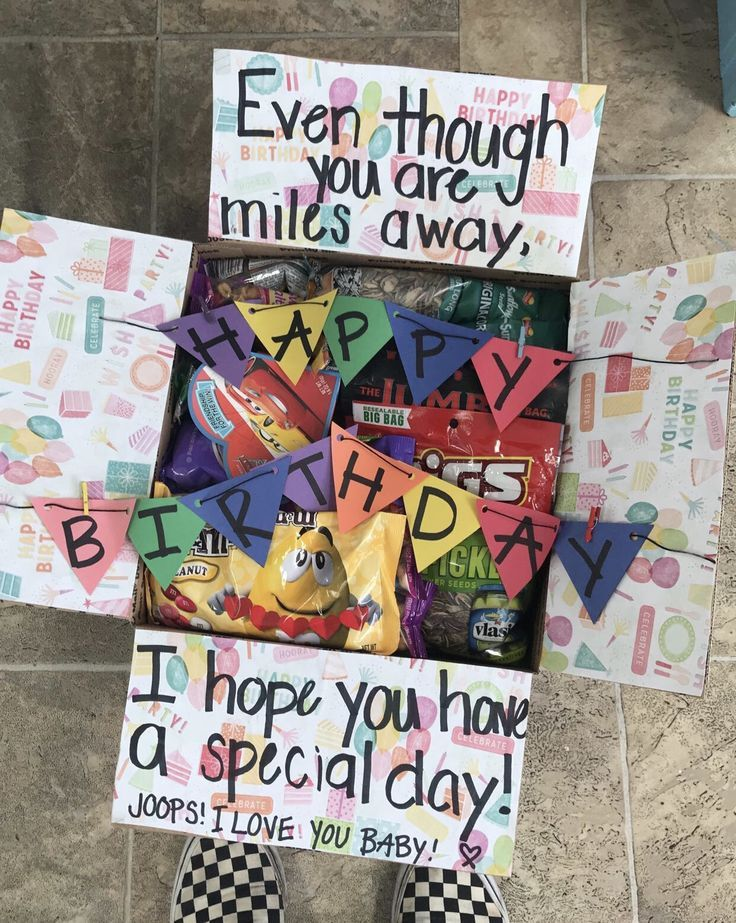 Geburtstagspaket-Idee  #geburtstagspaket #originalgiftideas #prettypackaging