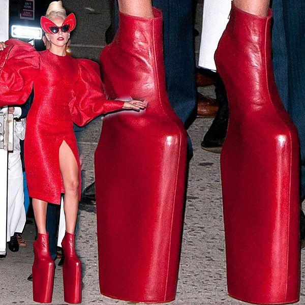 Lady gaga high heels, Lady gaga shoes