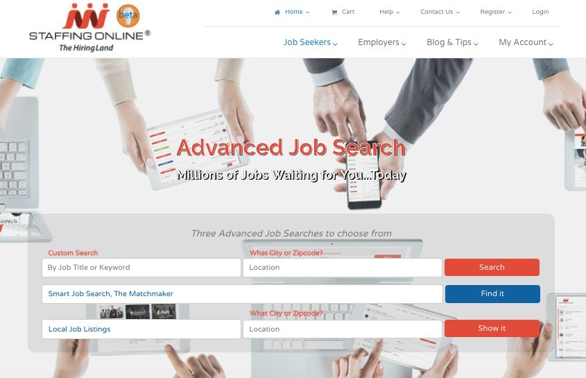 Advanced Job Search